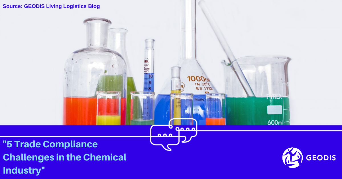 5 Trade Compliance Challenges in the Chemical Industry