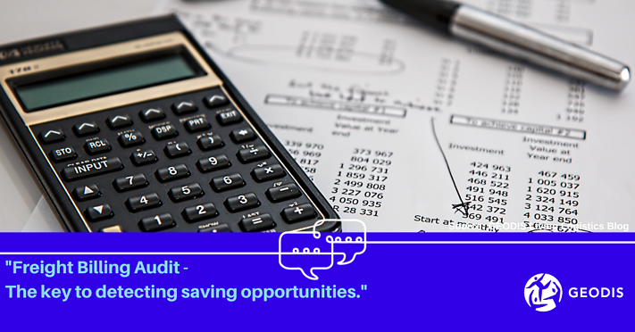 Freight Billing Audit -  The key to detect saving opportunities.-1