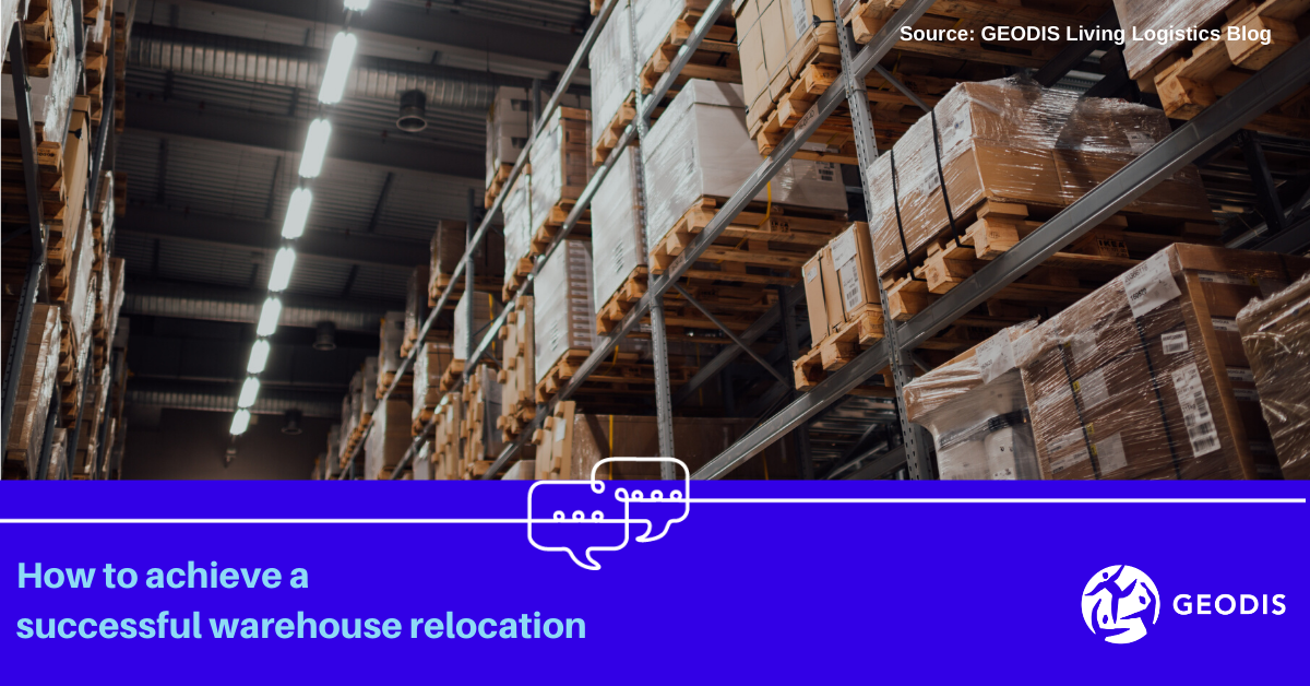 How to achieve a successful warehouse relocation