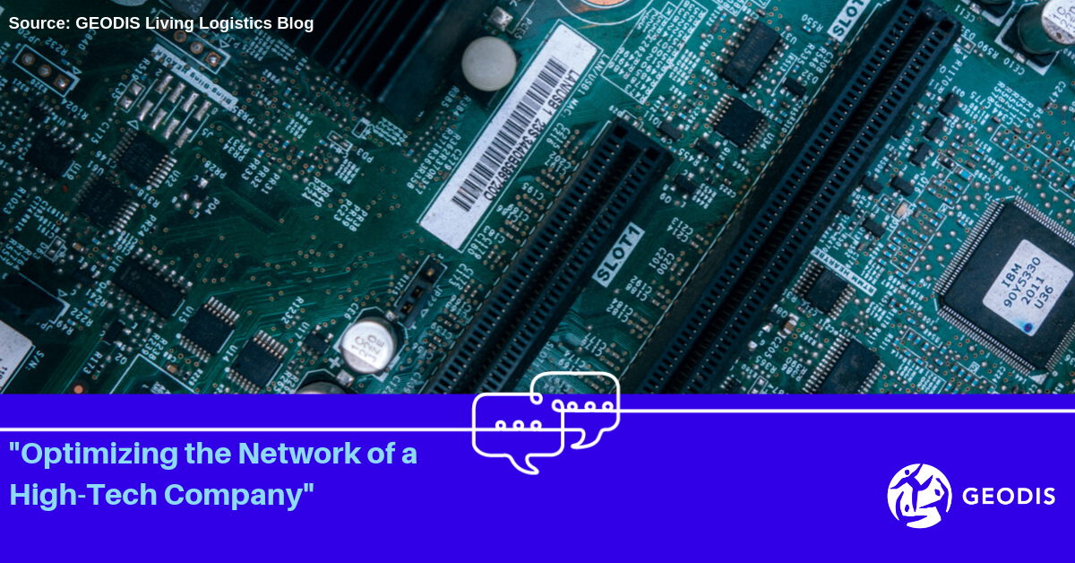 Optimizing the Network of a High-Tech Company